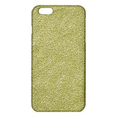Festive White Gold Glitter Texture iPhone 6 Plus/6S Plus TPU Case