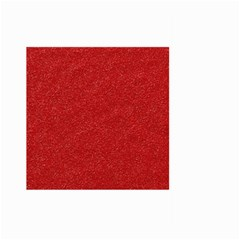 Festive Red Glitter Texture Large Garden Flag (Two Sides)