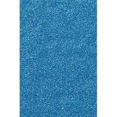 Festive Blue Glitter Texture 5 5  X 8 5  Notebooks