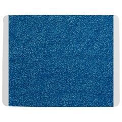 Festive Blue Glitter Texture Jigsaw Puzzle Photo Stand (Rectangular)