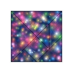 Starlight Shiny Glitter Stars Acrylic Tangram Puzzle (4  x 4 )