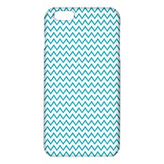 Blue White Chevron iPhone 6 Plus/6S Plus TPU Case