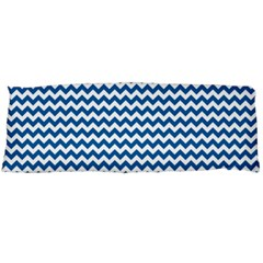 Dark Blue White Chevron  Body Pillow Case (Dakimakura)