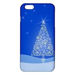 Blue White Christmas Tree iPhone 6 Plus/6S Plus TPU Case
