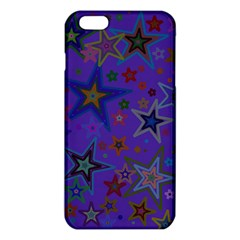 Purple Christmas Party Stars iPhone 6 Plus/6S Plus TPU Case