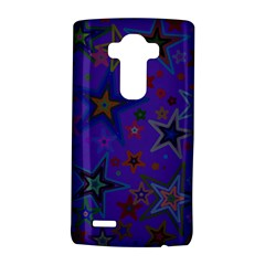 Purple Christmas Party Stars LG G4 Hardshell Case