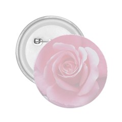 Pink White Love Rose 2.25  Buttons