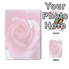 Pink White Love Rose Multi-purpose Cards (Rectangle)