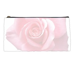 Pink White Love Rose Pencil Cases