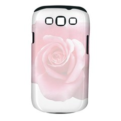 Pink White Love Rose Samsung Galaxy S Iii Classic Hardshell Case (pc+silicone)