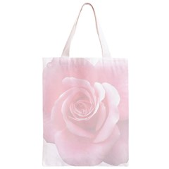 Pink White Love Rose Classic Light Tote Bag