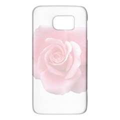 Pink White Love Rose Galaxy S6
