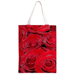 Red Love Roses Classic Light Tote Bag