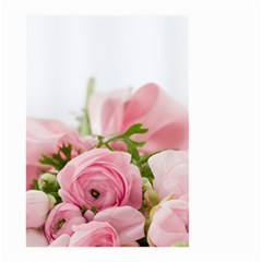 Romantic Pink Flowers Small Garden Flag (Two Sides)