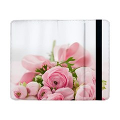 Romantic Pink Flowers Samsung Galaxy Tab Pro 8 4  Flip Case