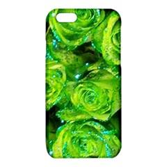 Festive Green Glitter Roses Valentine Love  iPhone 6/6S TPU Case