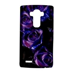 Purple Glitter Roses Valentine Love LG G4 Hardshell Case