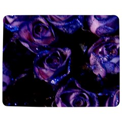 Purple Glitter Roses Valentine Love Jigsaw Puzzle Photo Stand (Rectangular)