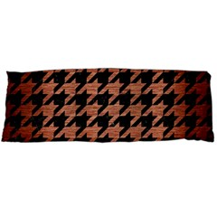 Houndstooth1 Black Marble & Copper Brushed Metal Body Pillow Case Dakimakura (two Sides)