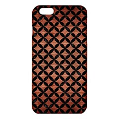 Circles3 Black Marble & Copper Brushed Metal (r) Iphone 6 Plus/6s Plus Tpu Case