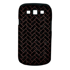 Brick2 Black Marble & Copper Brushed Metal Samsung Galaxy S Iii Classic Hardshell Case (pc+silicone)