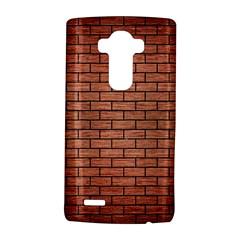 Brick1 Black Marble & Copper Brushed Metal (r) Lg G4 Hardshell Case