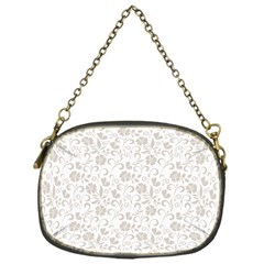 Elegant seamless Floral Ornaments Pattern Chain Purses (One Side)