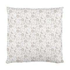 Elegant seamless Floral Ornaments Pattern Standard Cushion Case (One Side)