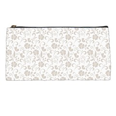 Elegant Seamless Floral Ornaments Pattern Pencil Cases
