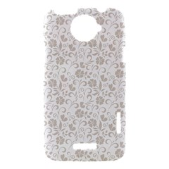 Elegant seamless Floral Ornaments Pattern HTC One X Hardshell Case