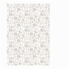 Elegant Seamless Floral Ornaments Pattern Small Garden Flag (two Sides)