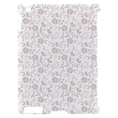 Elegant seamless Floral Ornaments Pattern Apple iPad 2 Hardshell Case (Compatible with Smart Cover)