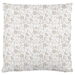 Elegant seamless Floral Ornaments Pattern Large Cushion Case (One Side)