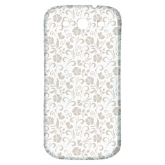 Elegant seamless Floral Ornaments Pattern Samsung Galaxy S3 S III Classic Hardshell Back Case