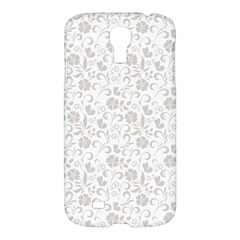 Elegant seamless Floral Ornaments Pattern Samsung Galaxy S4 I9500/I9505 Hardshell Case
