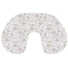 Elegant seamless Floral Ornaments Pattern Travel Neck Pillows