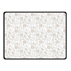 Elegant seamless Floral Ornaments Pattern Double Sided Fleece Blanket (Small)