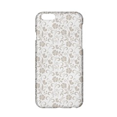 Elegant seamless Floral Ornaments Pattern Apple iPhone 6/6S Hardshell Case