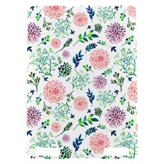 Hand Painted Spring Flourishes Flowers Pattern Kindle Touch 3G