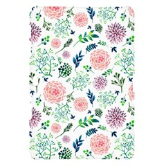 Hand Painted Spring Flourishes Flowers Pattern Samsung Galaxy Tab 10.1  P7500 Hardshell Case