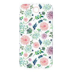 Hand Painted Spring Flourishes Flowers Pattern Samsung Note 2 N7100 Hardshell Back Case