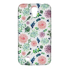 Hand Painted Spring Flourishes Flowers Pattern Samsung Galaxy Mega 6.3  I9200 Hardshell Case