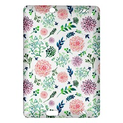 Hand Painted Spring Flourishes Flowers Pattern Amazon Kindle Fire HD (2013) Hardshell Case