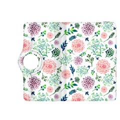 Hand Painted Spring Flourishes Flowers Pattern Kindle Fire HDX 8.9  Flip 360 Case