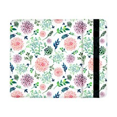 Hand Painted Spring Flourishes Flowers Pattern Samsung Galaxy Tab Pro 8.4  Flip Case