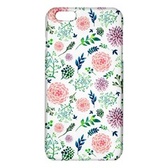 Hand Painted Spring Flourishes Flowers Pattern Iphone 6 Plus/6s Plus Tpu Case