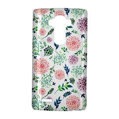 Hand Painted Spring Flourishes Flowers Pattern LG G4 Hardshell Case