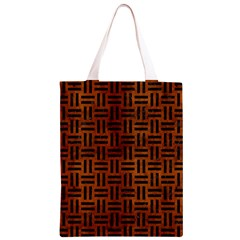 WOV1 BK MARBLE BURL (R) Classic Light Tote Bag