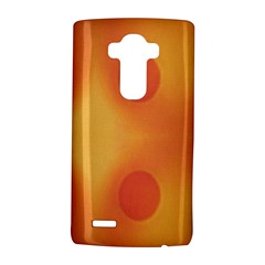 Sunny Happy Orange Dots LG G4 Hardshell Case