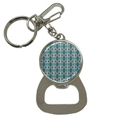 Tropical Blue Abstract Ocean Drops Bottle Opener Key Chains